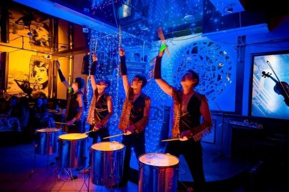 шоу барабанщиков на корпоратив