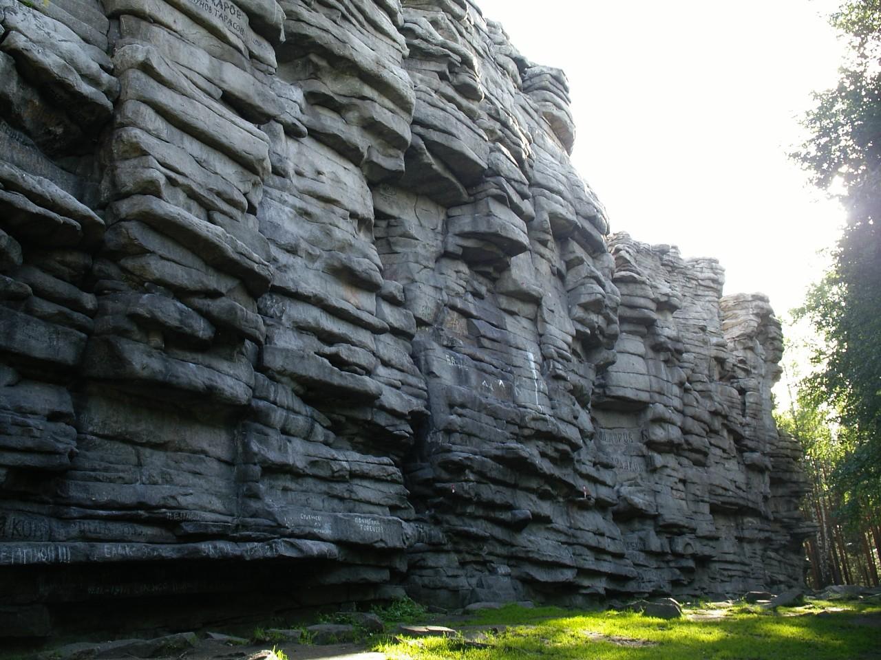 чертово городище скалы