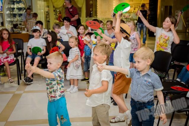 детский праздник музыкальная шкатулка
