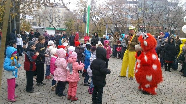 аниматоры на детский уличный праздник