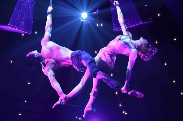 шоу гимнастов на корпоративе