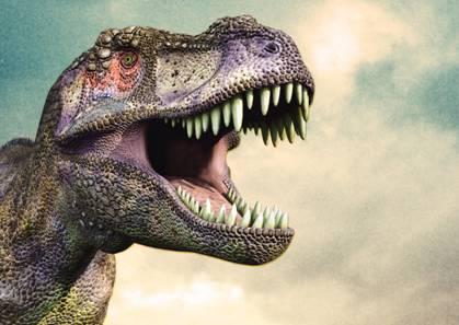 Шоу с динозавром