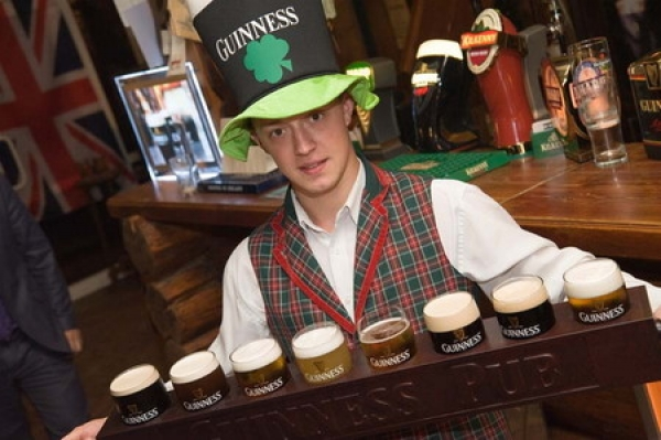 вечеринка в ирландском стиле