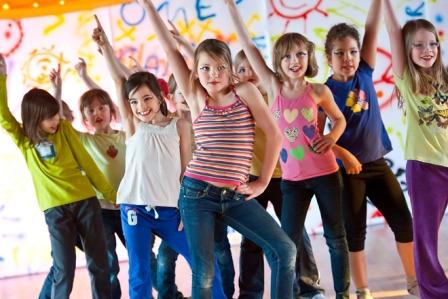 детское танцевальное шоу