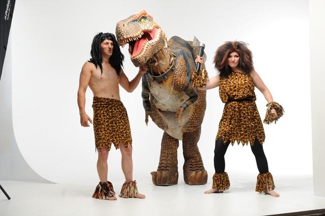 экстремальное шоу с динозавром