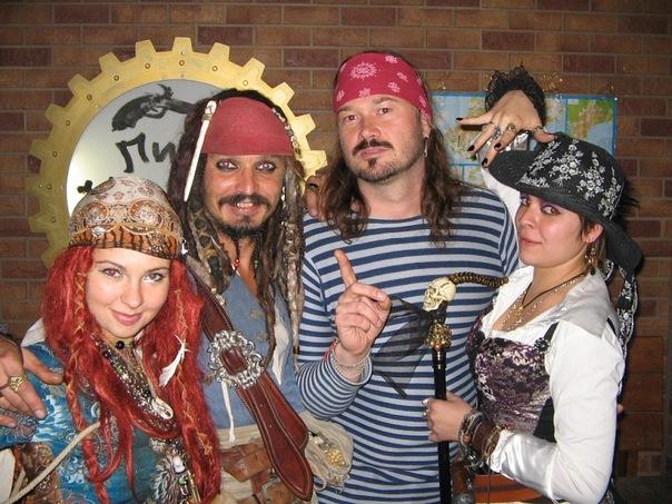 корпоратив в стиле пиратской вечеринки