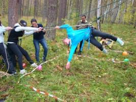 командообразование веревочный курс