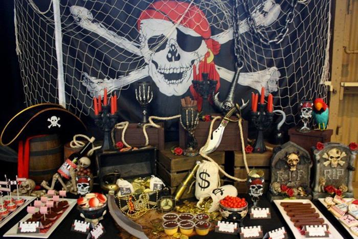 атрибуты для пиратского нового года